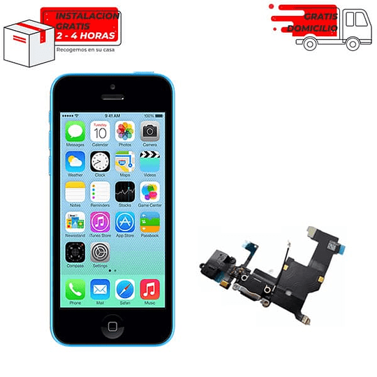 Flex de carga Iphone 5 -5s -5c
