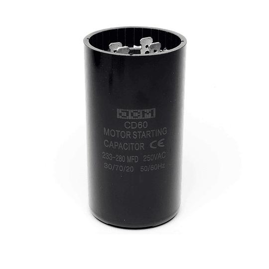 Capacitor Arranque 233-280 Mfd Nevera CR440458  | Repuestos para Lavadora
