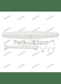 Conjunto de brazo de pulverización y tubo de suministro Lavavajillas Whirlpool CRW200019 675808