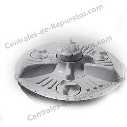 Agitador Mediano 3 Mariposas 37 cm  Original Lavadora LG 5845EY1004D CR440779  FOT789
