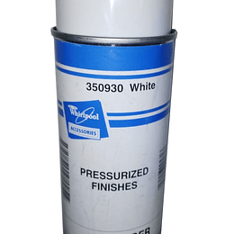 Pintura Aerosol Blanco Lavadora Nevera Whirlpool 350930 CR441299 | White Spray