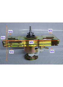 Transmision Cuello Alto Lavadora Electrolux CR440208
