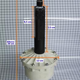 Transmisión Aqua Saver Sin Lata Lavadora Mabe 189D5234G003 CR440261