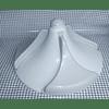 Agitador Aquasaver Helicoidal Volcan 37 cm Lavadora Mabe 253C1156G001 WW03A00157 CR440540