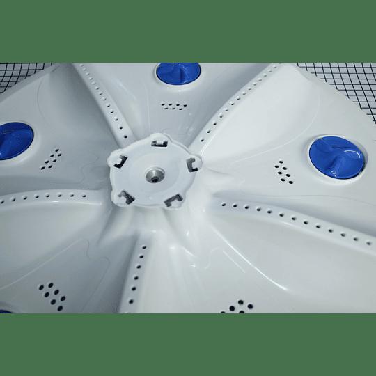 Agitador Plano 5 Mariposas Lavadora Electrolux 30104109021 CR440552   Repuestos para Lavadora