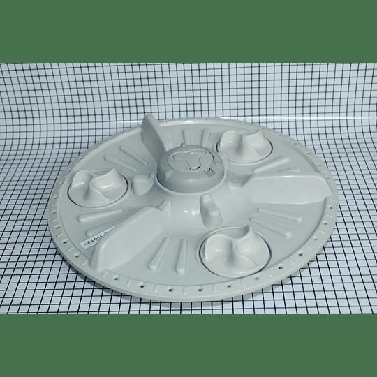 Agitador Plano Pequeño 3 Mariposas Génerico 32 cm Lavadora LG CR440553