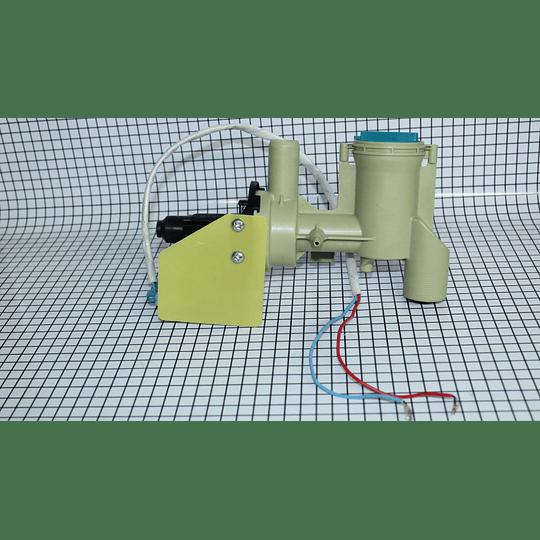 Bomba Impeller 65W Plaqueta Amarilla Larga Lavadora Electrolux Haceb Abba Daewoo  Wg04f09411 CR440015  | Repuestos lavadora