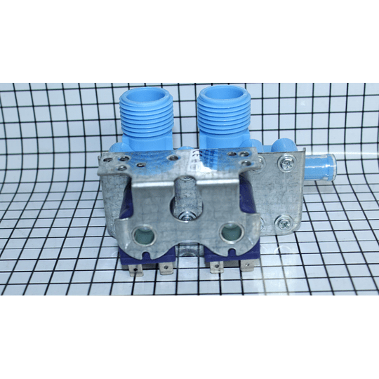 Válvula Doble Genérica Universal Lavadora Centrales Antigua Marca JZ 137353500 - X CR440687  | Repuestos lavadora
