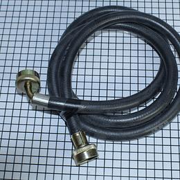 Manguera Entrada con Codo Plata  Lavadora Todas CR440564  | Repuestos para lavadora