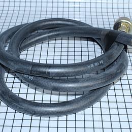 Manguera Entrada con Codo Plata  Lavadora Todas CR440564    Repuestos para lavadora