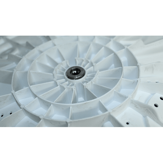 Agitador 4 Mariposas Original Lavadora Electrolux 240072900 CR441077 | Repuestos para Lavadora