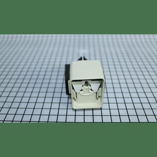 Relay Integrado 12Mfd Capacitor 1/8 - 1/4 Nevera Mabe XREL055 CR440865
