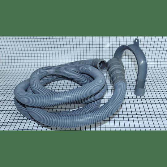 Manguera Desagüe 3 bocas 1,70 mtrs Universal Lavadora Digitales CR440023    Repuestos para Lavadora