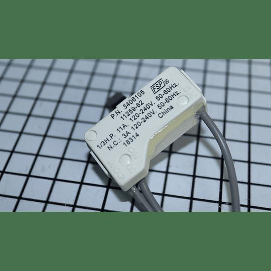 Interruptor Secadora Whirlpool WP3406105 CR440893