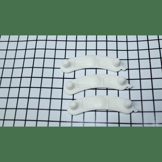 Cojinetes suspensión (Deslizadoras Curvas -  Media Luna) Lavadora Whirlpool Americana 285744 CR440368