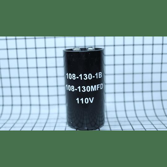 Capacitor De Arranque 108-130Mf Lavadora CR440293   Repuestos para Lavadora