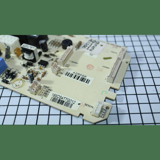 Tarjeta Electrónica Lavadora Mabe Amazonas 189D5477G012 / WW01F01177 CR440414   Control Board 120V 3*