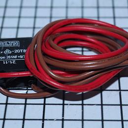 Bimetalico Descongelamiento 4 Cables Rojo Cafe Nevera Challenger CR440505