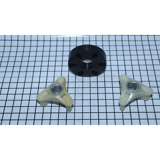 COUPLING O ACOPLE DE MOTOR LAVADORA WHIRLPOOL 285753A | Repuestos lavadora Whirlpool