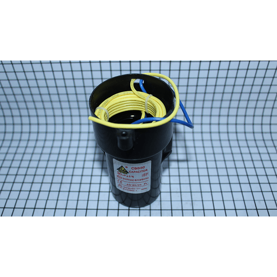 Capacitor Marcha 30 Mf Lavadora Electrolux CR440280  | Repuestos lavadora