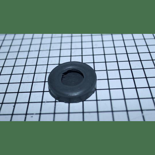 Cubierta tornillo / Caucho Gris Nivelador Pata o Tornillo Lavadora Mabe CR440119 | repuestos para lavadora