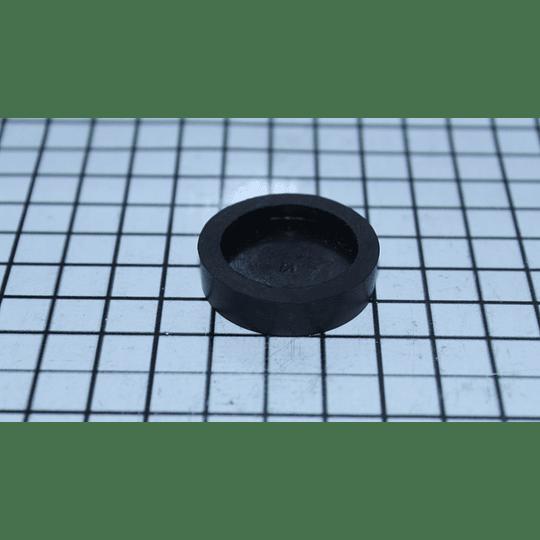 Caucho Negro Nivelador Negro Pata o Tornillo Lavadora Mabe CR440120 | repuestos para lavadora