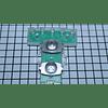 Interruptor Botones Cuadrados Lavadora Mabe 189D2761G009 CR440409   Repuestos de lavarropas