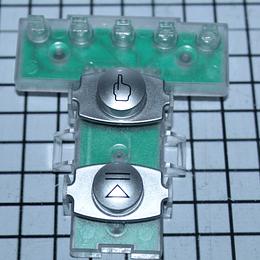 Interruptor Botones Cuadrados Lavadora Mabe 18902761G009 CR440409 | Repuestos de lavarropas