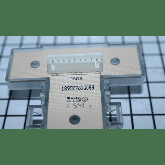 Interruptor Botones Cuadrados Lavadora Mabe 189D2761G009 CR440409 | Repuestos de lavarropas