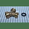 Acople Y Metalico Manguera Entrada Agua Lavadora Todas CR440450 | repuestos para lavadora universal