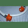 Manguera Blanca Universal de Entrada 1,60 mts Lavadora Digital CR440026  | Repuestos para Lavadora