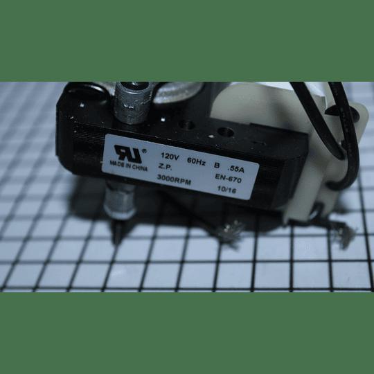 Motor Ventilador con Aspa Nevera Universal Importación EM670 CR440697