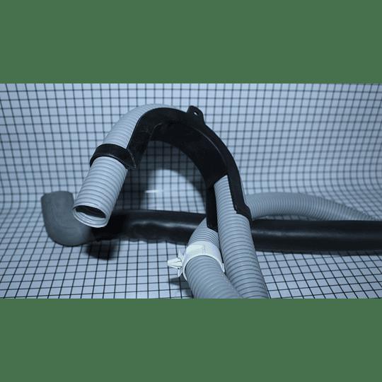 Manguera desagüe salida con Codo Grande Universal  Lavadora CR440981