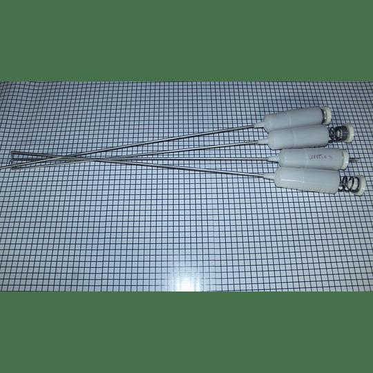 Varillas de Suspensión Blanco Larga 68 cm Lavadora Mabe CR440556