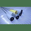 Varillas de Suspensión Blanco y Amarillo 52 cm Lavadora Electrolux CR441024