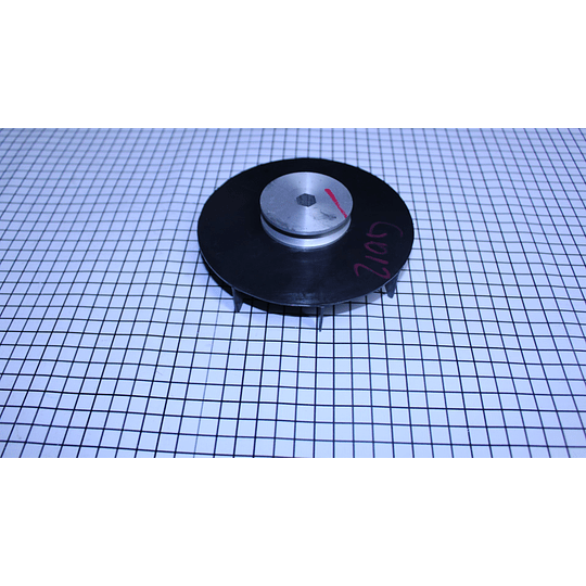 Polea plástica con Imán Lavadora Mabe Amazonas CR440653