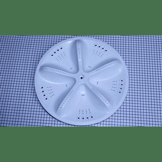 Agitador Plano Mediano 34 cm Lavadora Electrolux Ewlo66ofdigt CR441057 | Repuestos para Lavadora