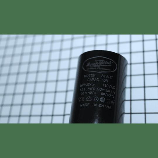 Capacitor arranque 189-227 Mfd  Lavadora Whirlpool CR440824 | Repuestos para Lavadora