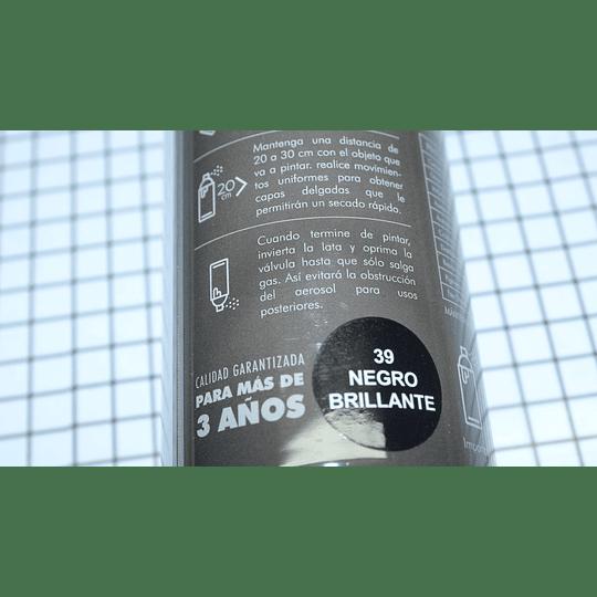 Pintura Negro Brillante Elec Marca Supermax CR441001