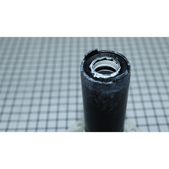 Tapa Caña Transmision De Uñas Alado 112mm Lavadora GE - Mabe 7171105 CR440688