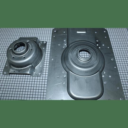 Juego soporte transmisión lata ancha flotador Lavadora Mabe  D3187G002 CR440801