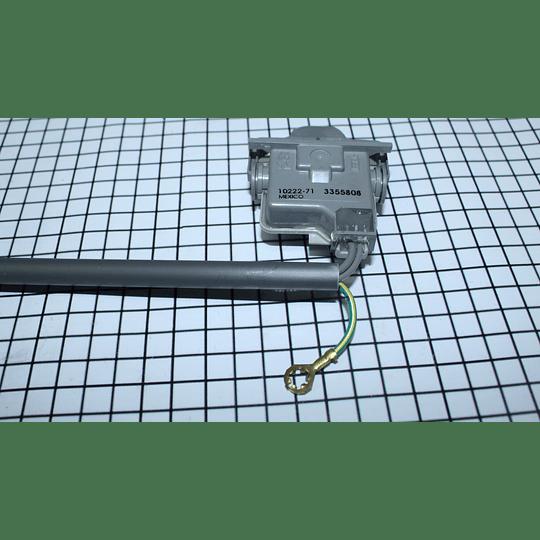 ES671 Interruptor Tapa Redondo Lavadora Whirlpool 285671 - 3355808 CR440182