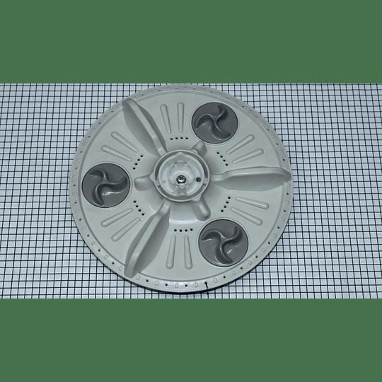 Agitador Pequeño 3 mariposas 32 cm Original Lavadora LG CR440575
