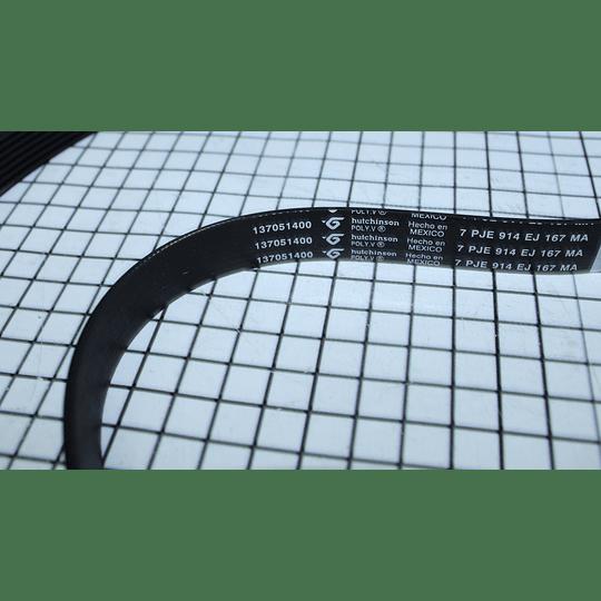 Correa 6 Guias 52 cm Secadora Electrolux 137051400 CR440153