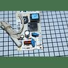 Tarjeta electrónica Nevera Mabe 228D7291G004 CR441042