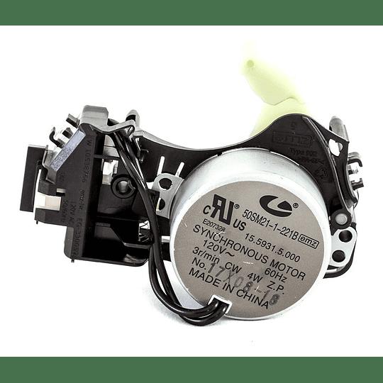 Actuador Shifter 4 Terminales Lavadora Whirlpool W10538766 CR440053 | repuestos para lavadora