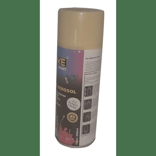 Pintura Aerosol Blanco Crema Nevera Uduke 315 CR440844 | White Spray Crema