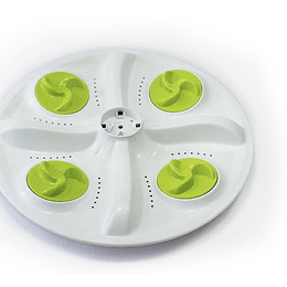 Agitador Plano 4 Mariposas 34 cm Lavadora Challenger 3007605 CR440554  | Repuestos lavadora