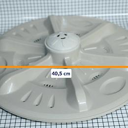Agitador Plano Grande 40.5 cm Lavadora Haceb Original CR440599  | Repuestos lavadora