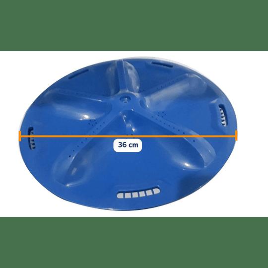 Agitador Azul 36 cm Lavadora Electrolux CR440469  | Repuestos de lavadora